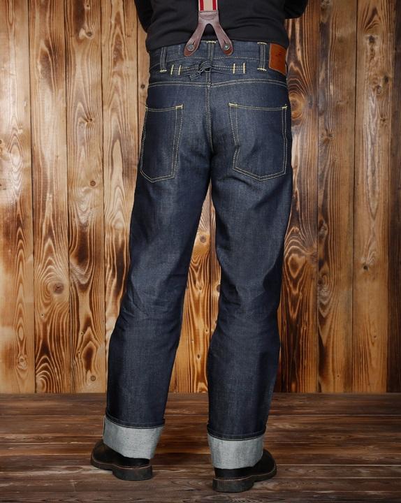 pike brothers 1937 roamer jeans 11oz indigo metal. Black Bedroom Furniture Sets. Home Design Ideas